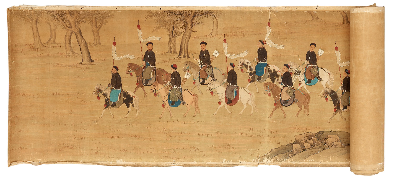 Asian hand scrolls