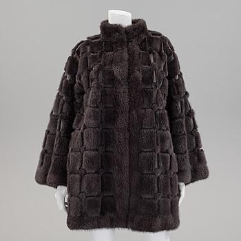 PÄLSJACKA, Christian Dior, storlek ca 40.