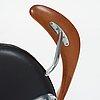 "Hans j wegner, a ""swivel chair"" /jh502, executed by johannes hansen, denmark 1960's."