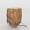 A central african drum.
