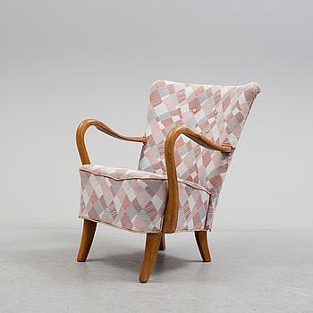 A mid 20th century armchair.