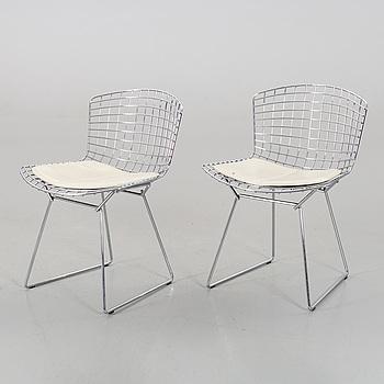 """HARRY BERTOIA, stolar, ett par, """"Sidechair"""", Knoll."""