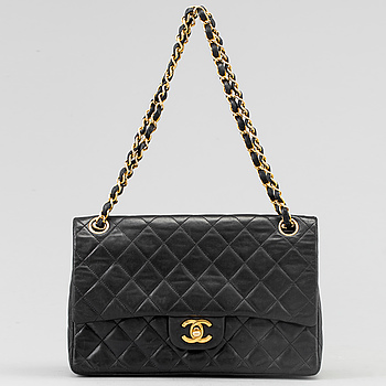 "CHANEL, ""Double Flap Bag""."