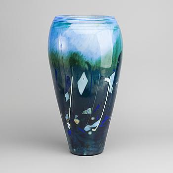GOLVVAS, glas, Maud Bugge,Hadeland glasbruk Norge, 2001.