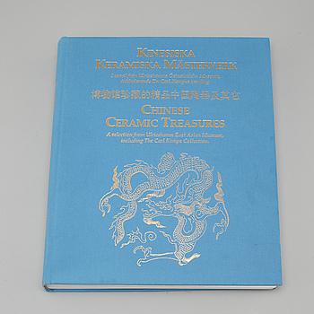 """BOK, """"Kinesiska keramiska mästerverk"""", Ulricehamns Konst & Östasiatiska Museum, Hylteburks Tryckeri AB, 2002."""