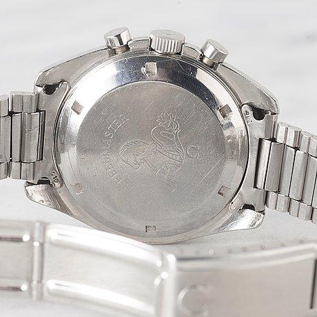 "Omega, speedmaster, chronograph, ""tropical dial""."
