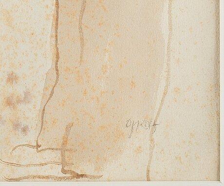 """George grosz, """"strassenszene new york/street scene new york""""."""