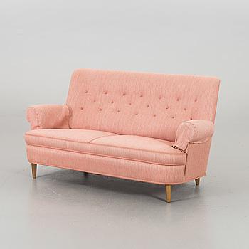 """CARL MALMSTEN,  soffa, """"Hemmakväll""""."""