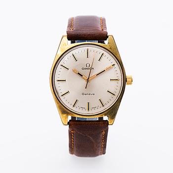 OMEGA, Genéve, armbandsur, 35 x 35-42 mm.