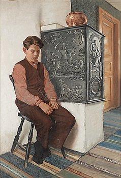 OWE ZERGE, olja på duk, signerad Owe Zerge och daterad 1927.