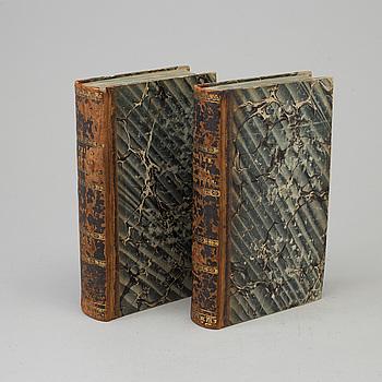 BÖCKER, 2 volymer, Elias Fries: Systema Mycologicum, sistens fungorum ordines, genera et species, vol I -II.