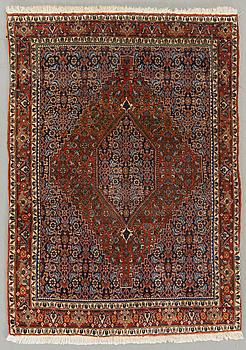 A semiantique carpet ca 168 x 120 cm.