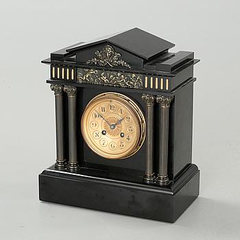 "A late 19th century table watch, clockwork marked ""LP Japy & Co"", dial marked ""Franz Kadliczek, Wien""."