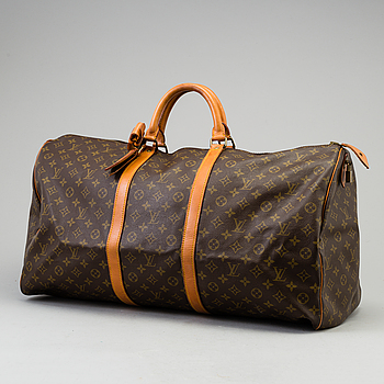 "VÄSKA, ""Keepall 60"", Louis Vuitton."