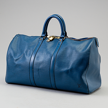 "LOUIS VUITTON, väska ""Keepall 45 Epi""."
