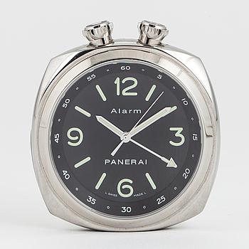 PANERAI, travel alarm clock, limited edition, 51 x 52 mm.