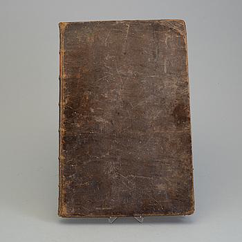 A BOOK, Johan Peringskiöld, Stockholm 1713.