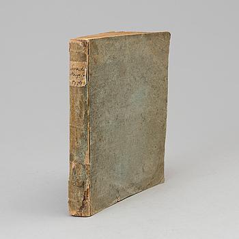 BOK, Sällsynt tidskrift från 1700-talet.