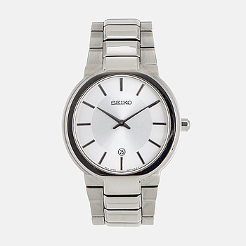 SEIKO, wristwatch, 38 mm.