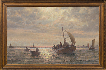 EMIL EKMAN, EMIL EKMAN, oil on canvas, signed.