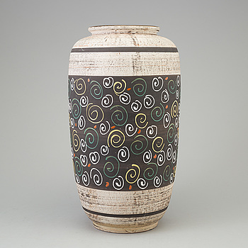 A large earthenware vase from West Germany, 1960's.