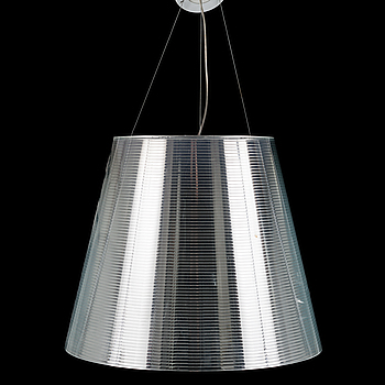 PHILIPPE STARCK, A Philippe Starck K Tribe S3 ceiling light from Flos. Height ca 44 cm.