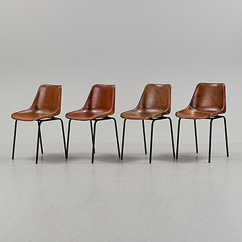 A set of four chairs, 21st century.