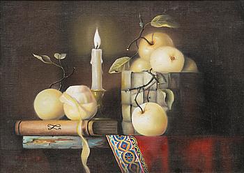 PAULA OKSMAN, olja på duk, signerad och daterad -98.