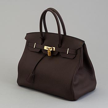 """VÄSKA, """"Birkin 35"""", Hermès, 2013."""