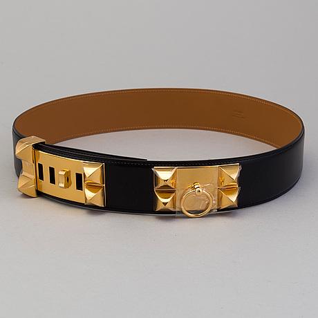 """BÄlte, """"collier de chien"""" hermès"""