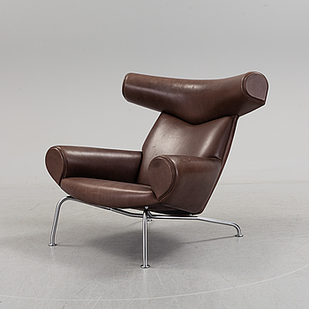 "A Hans J Wegner ""Ox""-Chair, Erik Jorgensen, Danmark, 21th century."