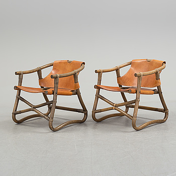 IKEA, A pair of 'Espri' easy chairs by IKEA, 1970s.