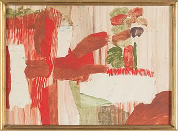 TORSTEN RENQVIST, TORSTEN RENQVIST, Watercolour, signerd (faded) TR and dated -60.