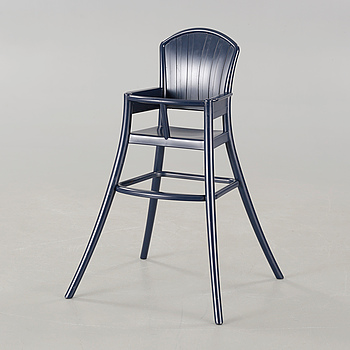 An Ikea chair, design Gillis Lundgren.