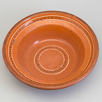 A 19th century ceramic bowl.