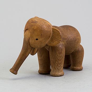 KAY BOJESEN, A wooden elephant design KAY BOJESEN, Denmark.