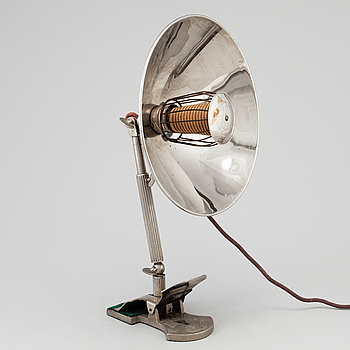 A 20th century Glory heat lamp.