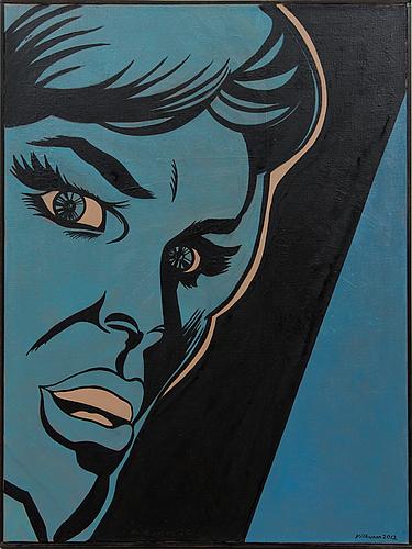 Risto vilhunen, sininen nainen.