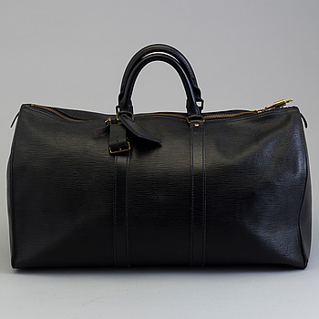 "LOUIS VUITTON, väska ""Keepall 55 Epi""."
