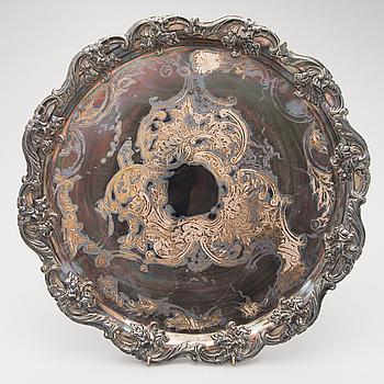 BRICKA, nysilver, England, Sheffield plate ca 1830.