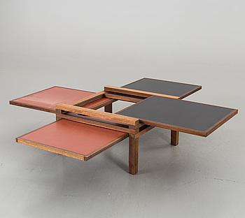 SOFFBORD, Bernard Vuarnesson för Sculptures Jeux, 1980-tal,