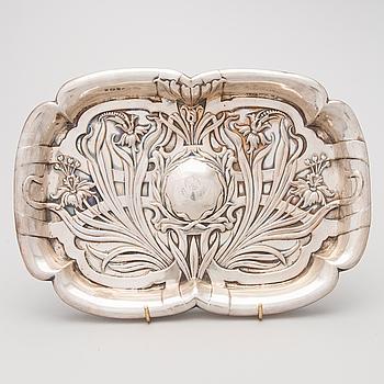 BRICKA, sterling silver, arts and crafts, Birmingham, England 1903.
