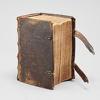 The Carl XII bibel, Uppsala, 1711.