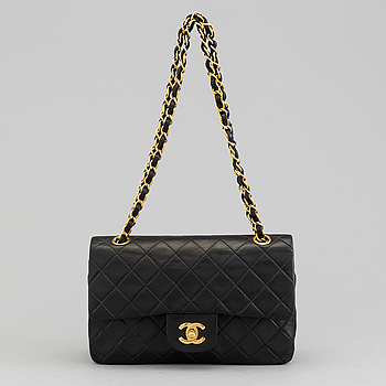 "CHANEL, väska ""Double Flap""."