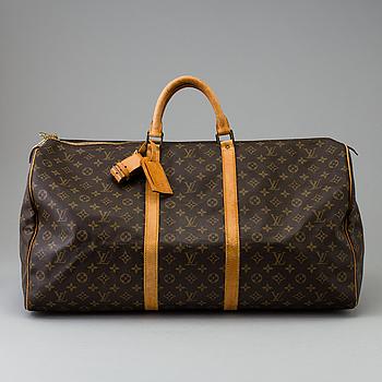 "LOUIS VUITTON, väska ""Keepall 60""."