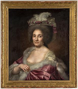 FRANSK SKOLA, 1700-TAL. Olja på duk.