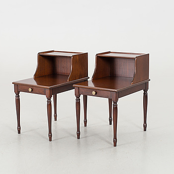 A PAIR OF NIGHT STANDS.