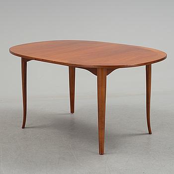 """CARL MALMSTEN, soffbord, """"Ovalen"""", Carl Löfving & Söner, Tibro, 1900-talets andra hälft."""