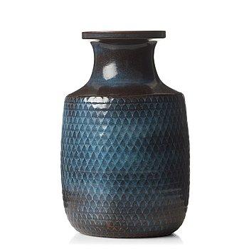 75. STIG LINDBERG, a stoneware vase, Gustavsberg Studio, Sweden 1966.