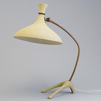 EINAR BÄCKSTRÖM, bordslampa, Malmö, 1950-tal.